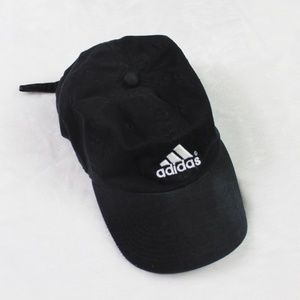 Adidas Unisex Adjustable Baseball Cap Black Hat